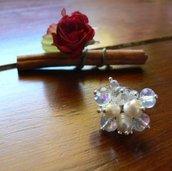 Anello La vetrinetta White ring