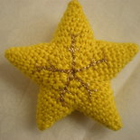 stella amigurumi uncinetto