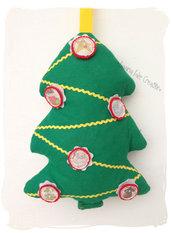Cuscino gioco albero di Natale per bambini