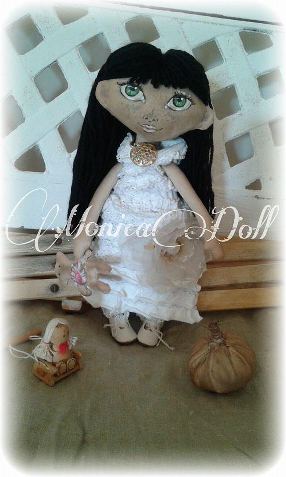 Bambola di stoffa Jasmine