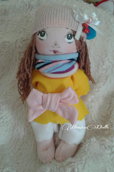 Bambola di stoffa Dolce Milù