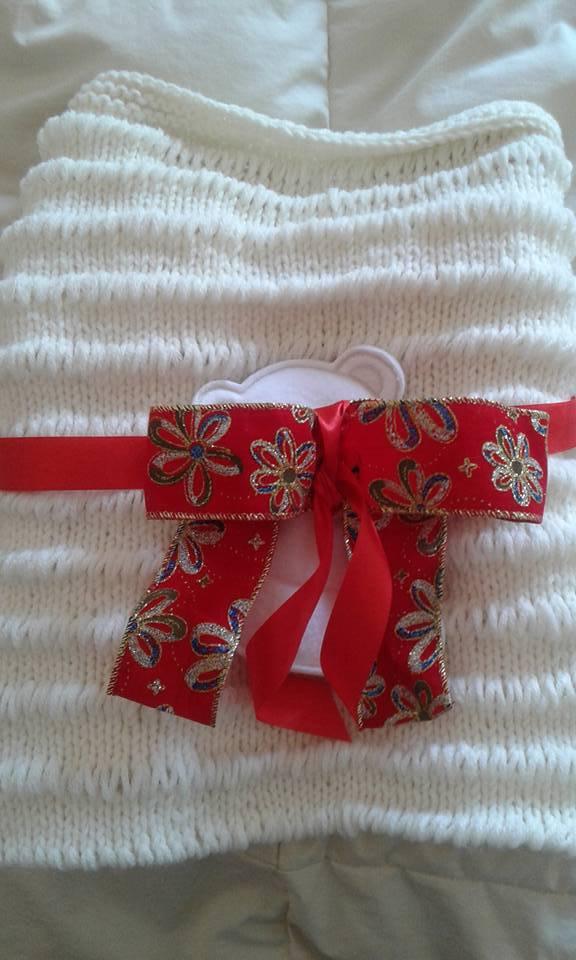 coperta di lana per culla