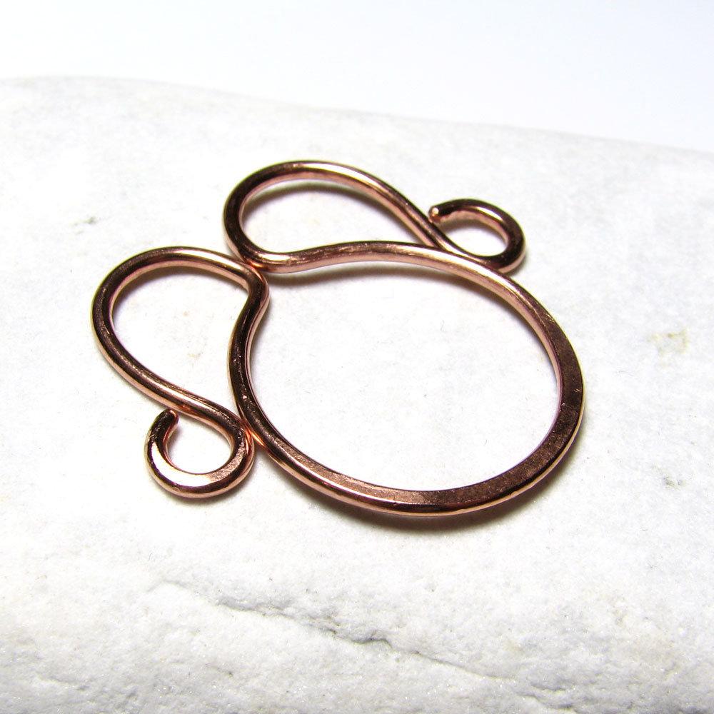 Segnalibro in rame, segnalibri metallo, fermasoldi, graffette, idea regalo, accessori per libri. SLBR-006