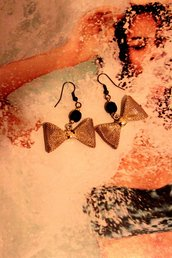 orecchini papillon
