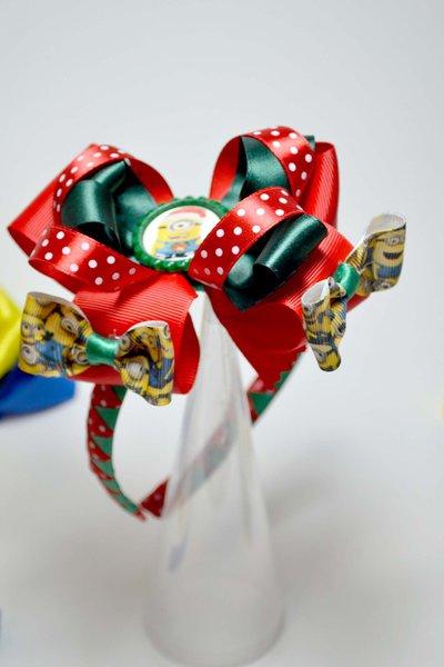 cerchietto frontino cerchiello ispirato ai minino natale natalizio