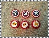 """Bottoni Artigianali """"Superheroes"""""""
