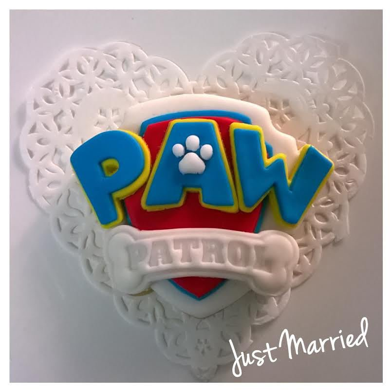 biscotti decorati paw patrol