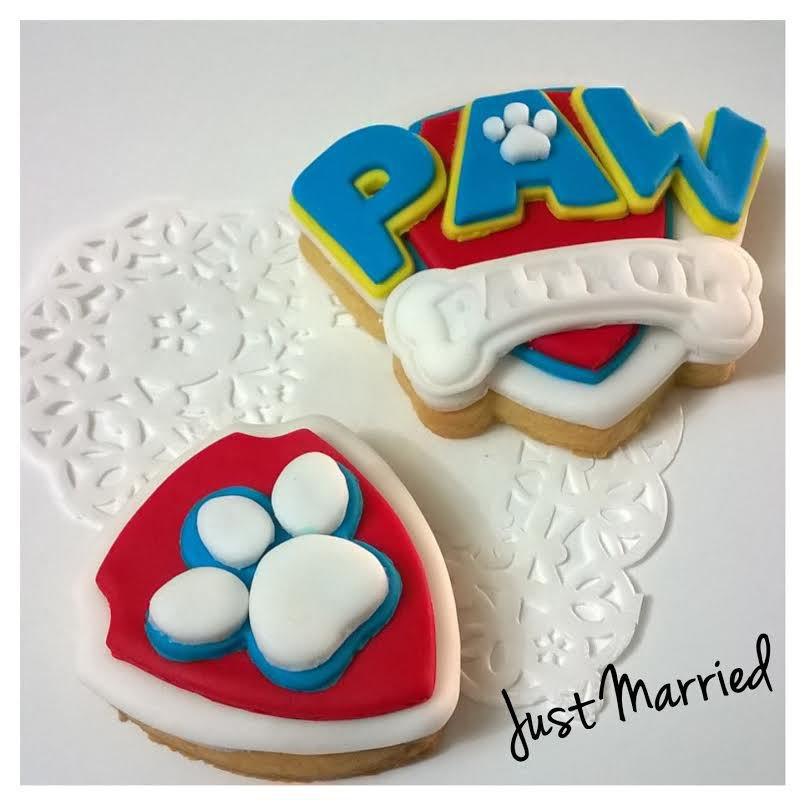 biscotti decorati paw patrol,