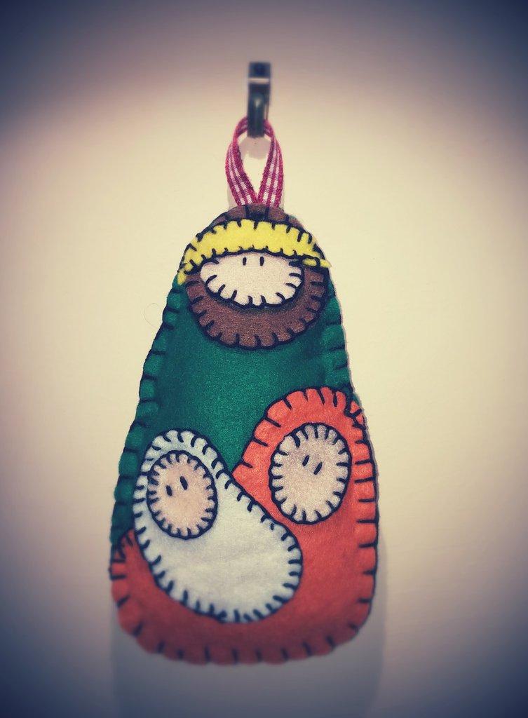 Top Presepe in pannolenci. Natività - Feste - Natale - di Le creazioni  QJ43