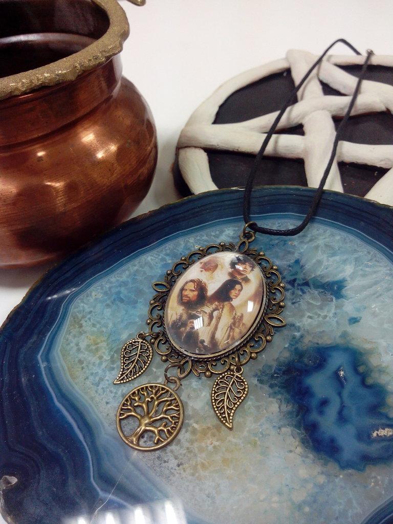 Cabochon Il Signore degli Anelli con Albero della vita