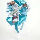 cerchietto bambina bimba cerchiello frontino headband hairband ispirato al cartone cartoon frozen elsa anna