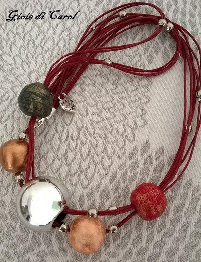 Collana Perle in Fimo