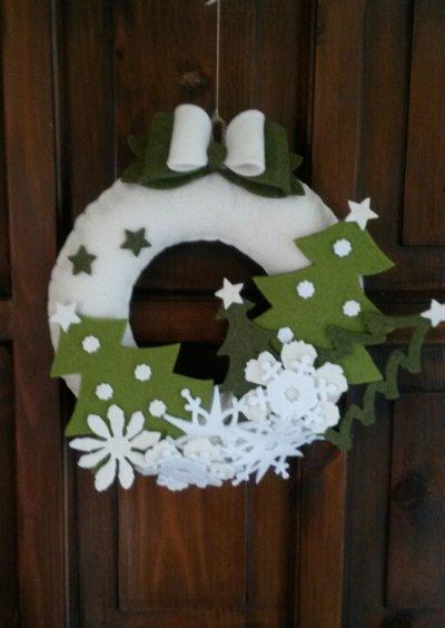 Natale e le sue ghirlande