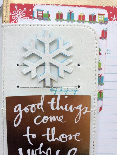 Paperclip - fiocco di neve