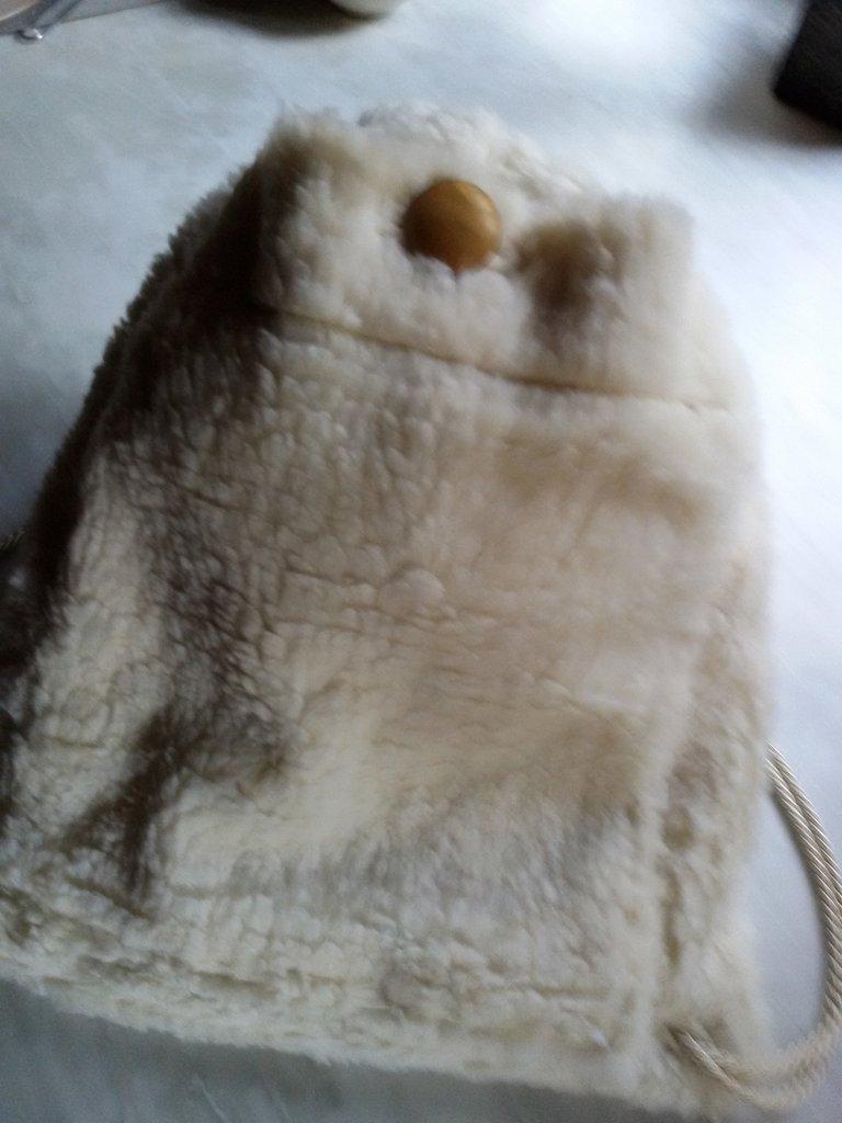 Zainetto  caldo in peluche