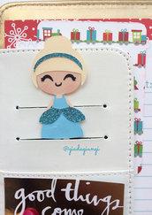 Paperpins planner-  mini cenerentola