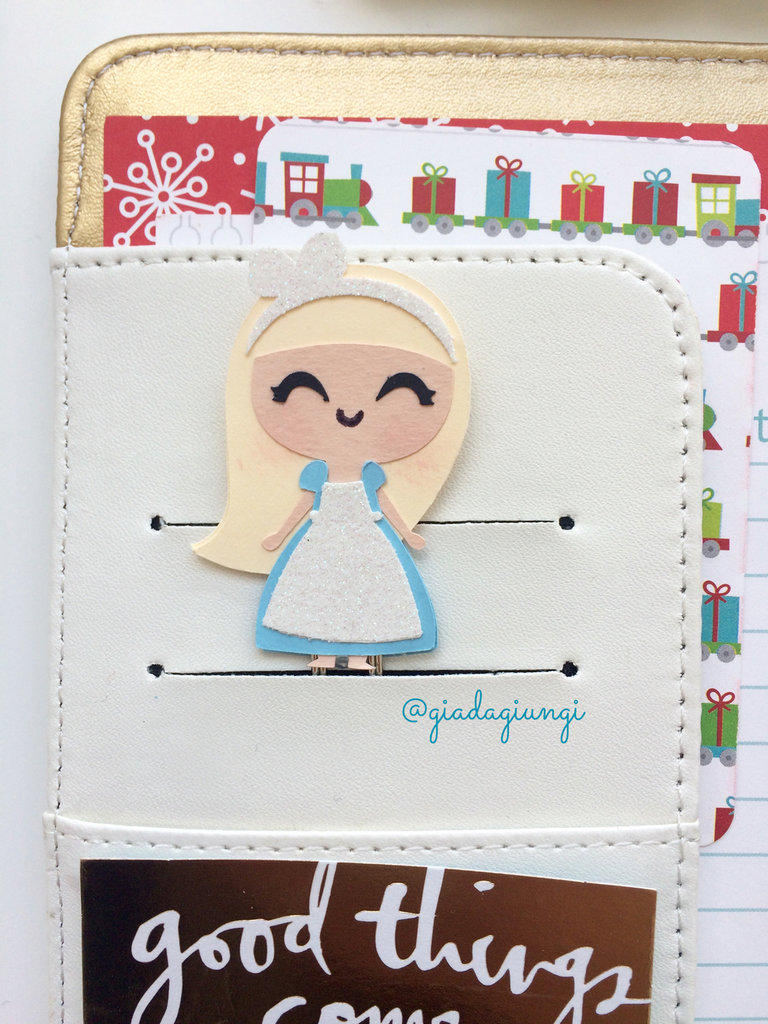 Paperclips planner-  mini Alice
