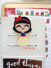 Paperclips planner-  mini biancaneve