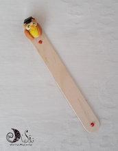 Bomboniera laurea segnalibro legno personalizzabile con gufo laurea grande