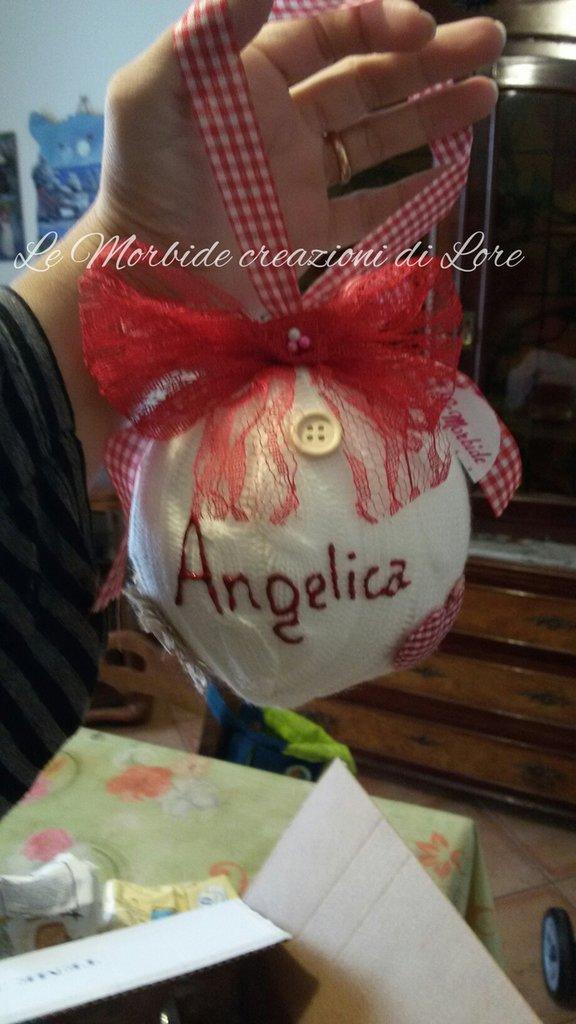 pallina natalizia personalizzata