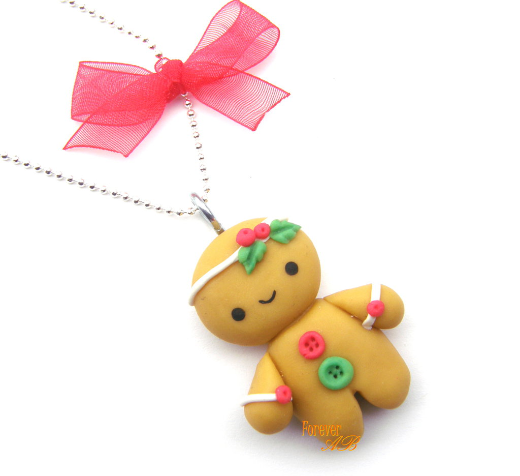 ... pan di zenzero gingerbreadman idea regalo natale pasta di mais kawaii