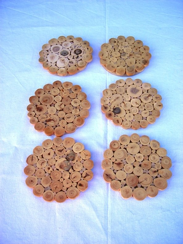 A juniper wood dish