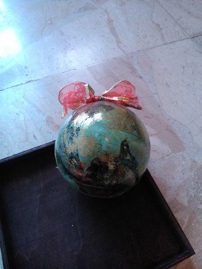 Palla stella di natale