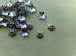 Cappette copri perla tibetan silver