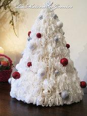 albero di natale- centrotavola bianco