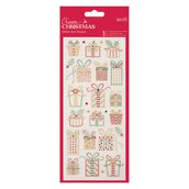 Glitter Dot Stickers - Christmas Presents