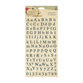 Alphabet Stickers (114pcs) - Nature's Gallery