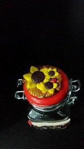 Vasetto portaspezie fiori
