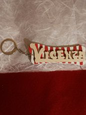 """Portachiave """"Vicenza"""" in legno"""