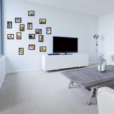 Adesivo per le pareti Cornici per foto 9x13cm (3429n)