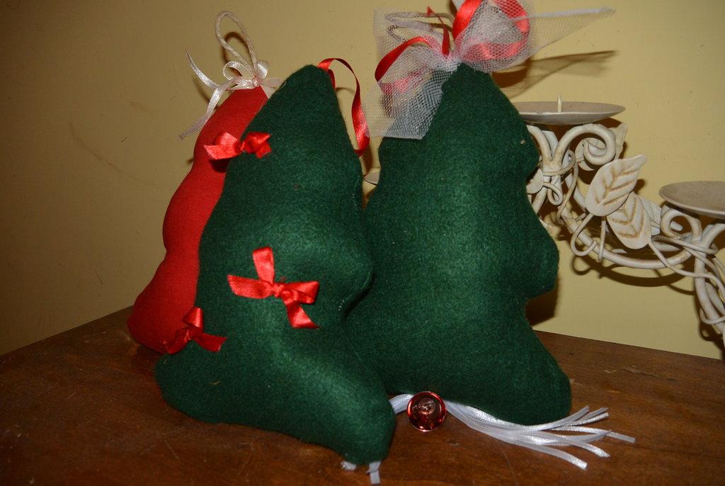 Alberelli di Natale morbidosi