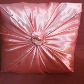 cuscino romantico bocciolo di rosa