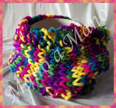 Scaldacollo incrociato Bambini - Multicolore