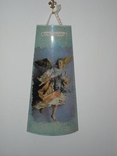 coppetta di pexiglass con angelo