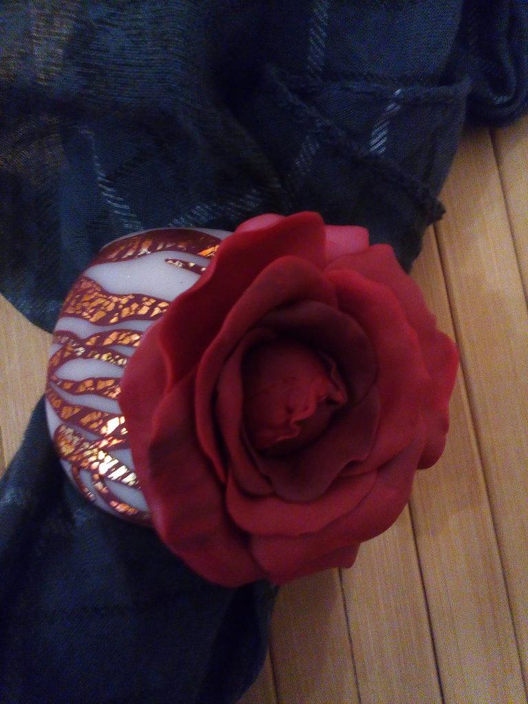 Gioiello per sciarpe Romantically involved.