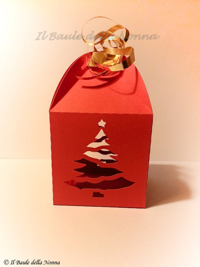 CHRISTMAS BOX / SCATOLINA REGALO NATALIZIA (art.62)