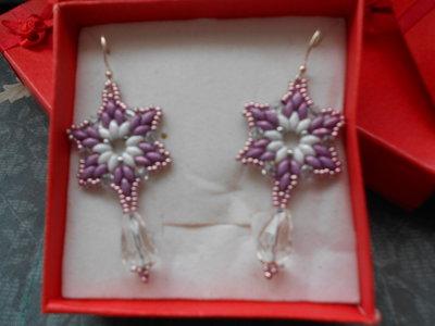 orecchini a forma di stella