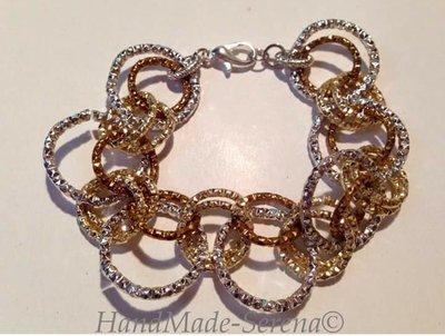 braccialetto anelli chainmail