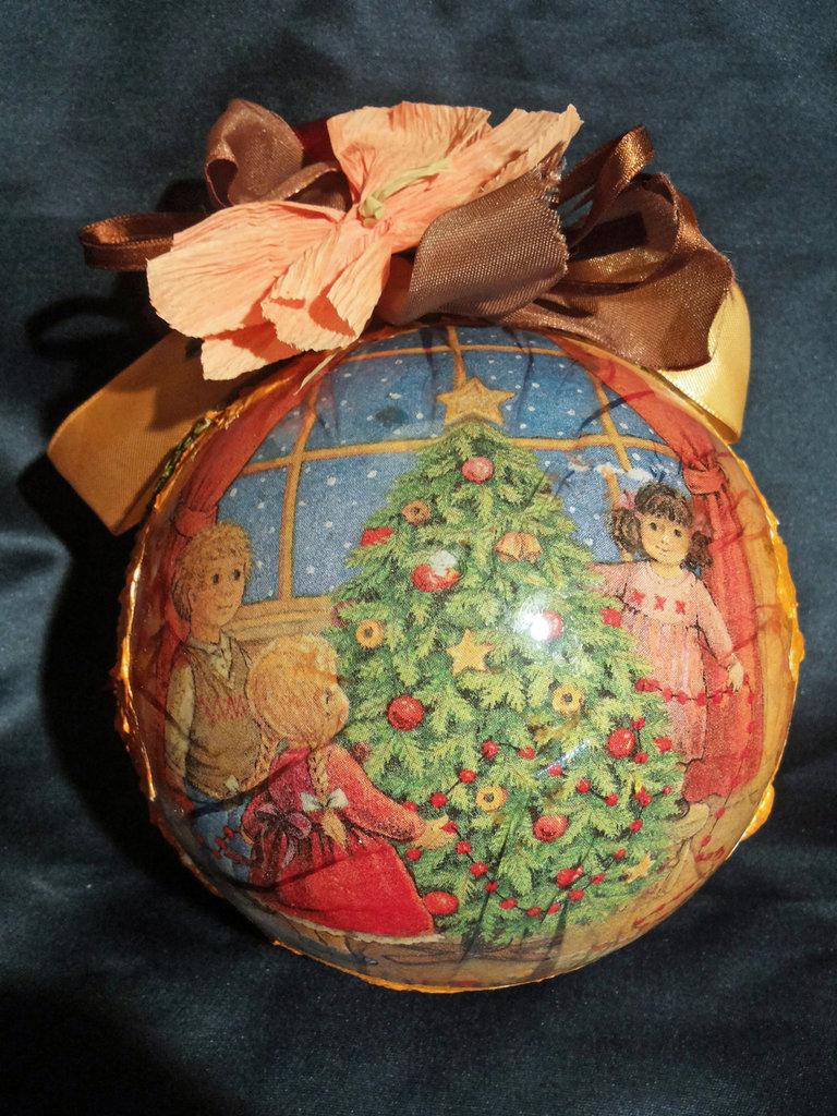 Sfera di Natale da appendere