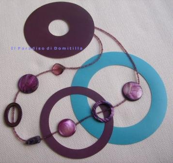 Collana Viola/ necklace Viola