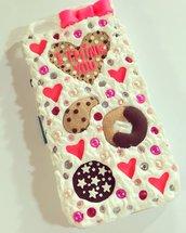 cover dolcetti e biscotti smartphone a scelta