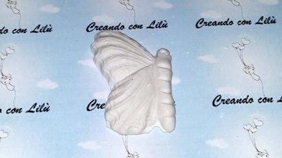 gessetto profumato farfalla profilo  6cm