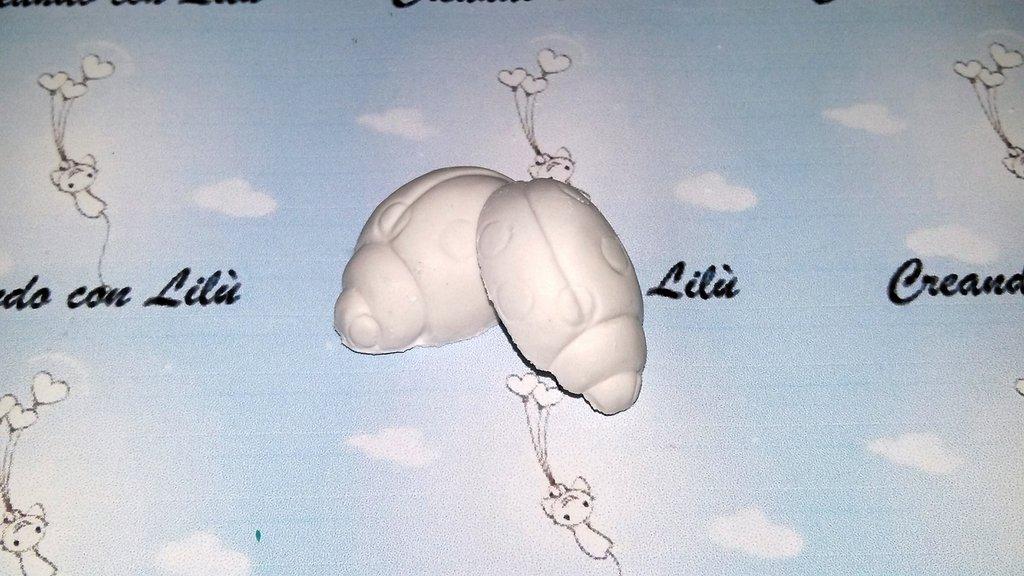 gessetto profumato coccinella 3cm