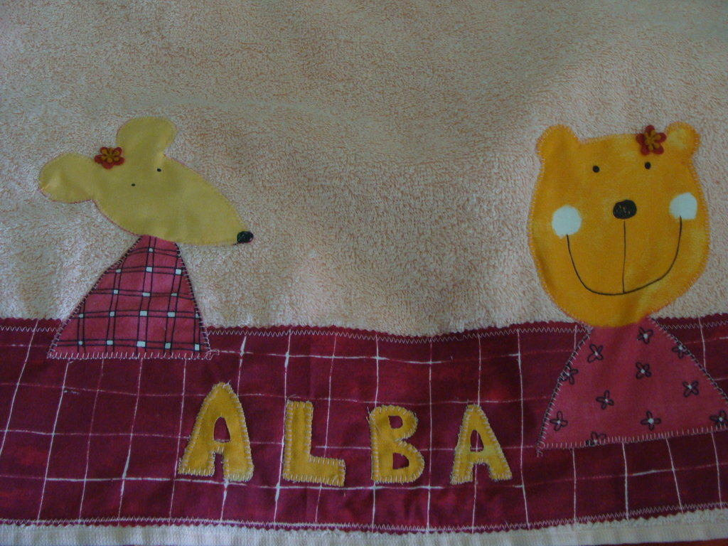 coppia di asciugamani