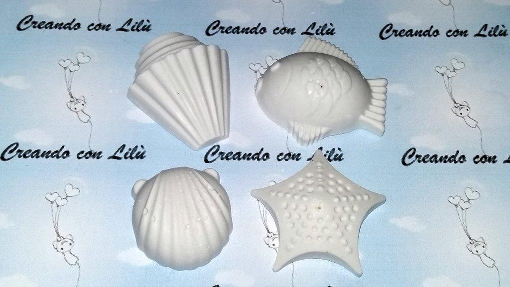 gessetto profumato  mondo marino a scelta  4cm