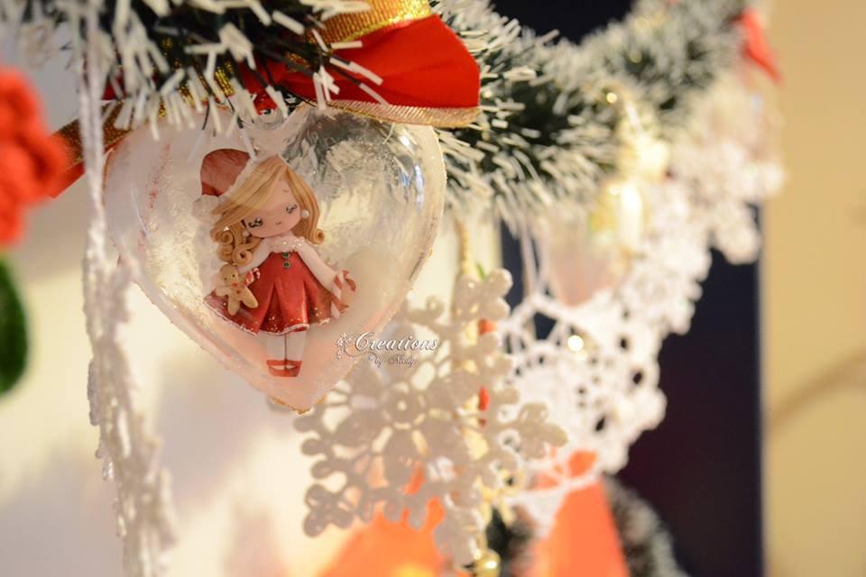 Pallina di Natale con Miniature
